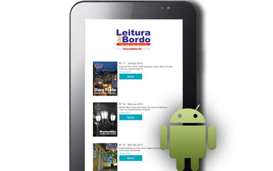 Plataforma de Revista Digital da Foggy Labs Chega para os Tablets Android