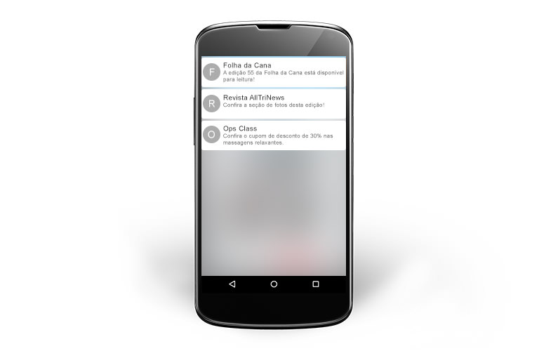 push notifications para aplicativos de revistas para android